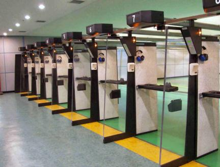 Indoor range 1 for Indoor shooting range design uk